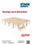 Keystage Care & Assembly Instructions