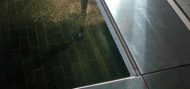 pooldeck under water shot