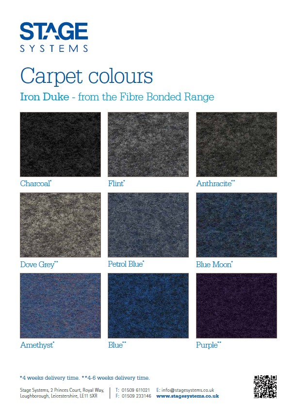 Carpet Colours – Iron Duke