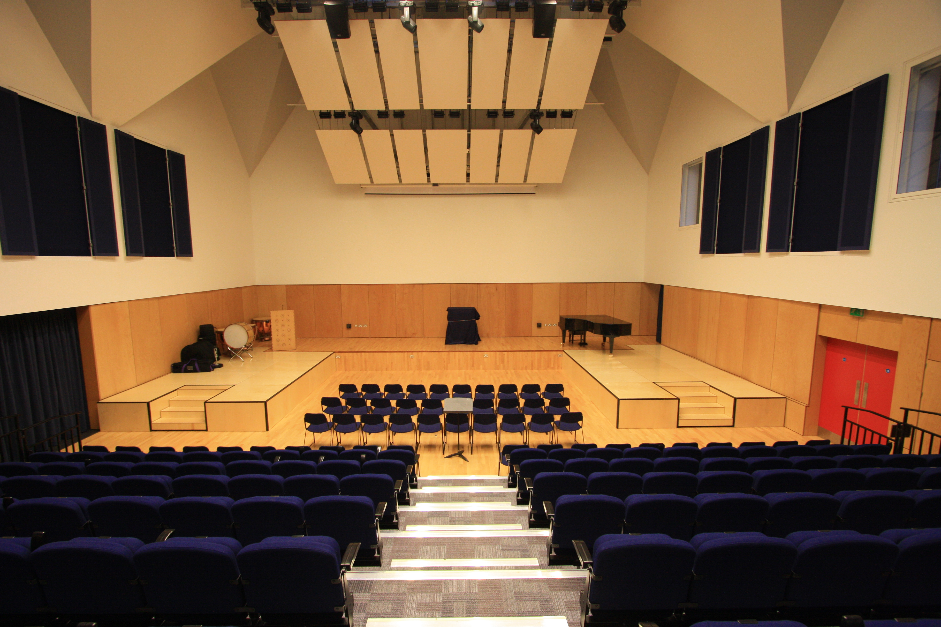 Brentwood School Stage Systems