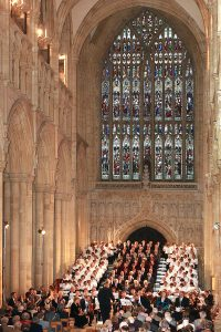 East Riding Choir at Beverley Minster (1)