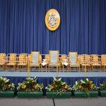 Loughborough Uni Graduation Stage