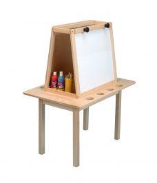 Art Easel Table Mounted