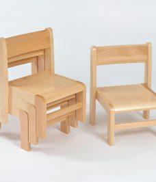 Beech Stacking Chair