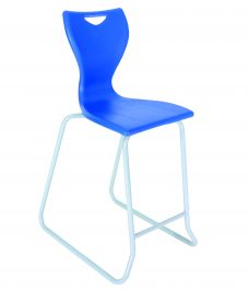 Skid-Base-Stool-Blue