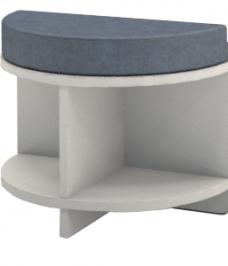 Semi Circular Seat