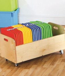 Cushions with trolley