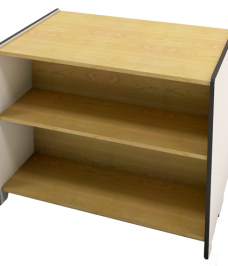 Fixed Bookcase Double Sided