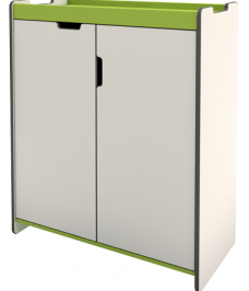 Fixed Double Cupboard Unit